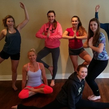 Super fun and entertaining yoga class